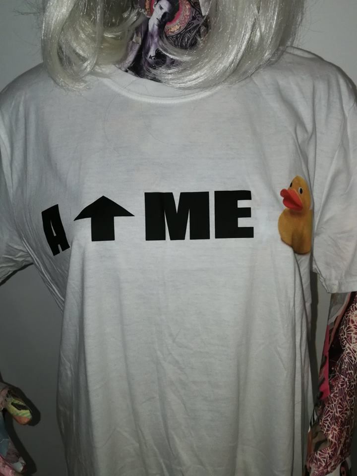 ay up me duck tshirt